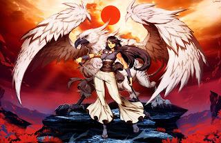 stormdancer fan art genzoman buruu yukiko