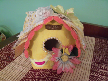 Altered Birdhouse-Front View