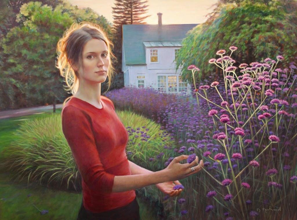 retratos-realistas-de-mujeres-al-oleo