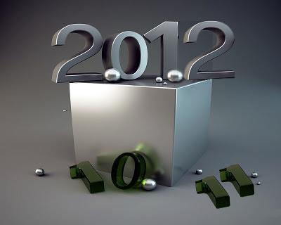 Happy New Year Wallpaper 2012