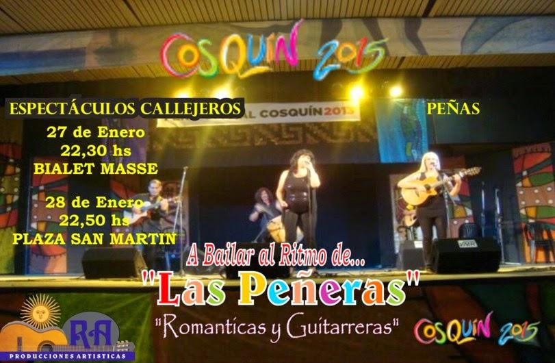 COSQUIN 2015!! Las Peñeras te harán bailar y cantar!!