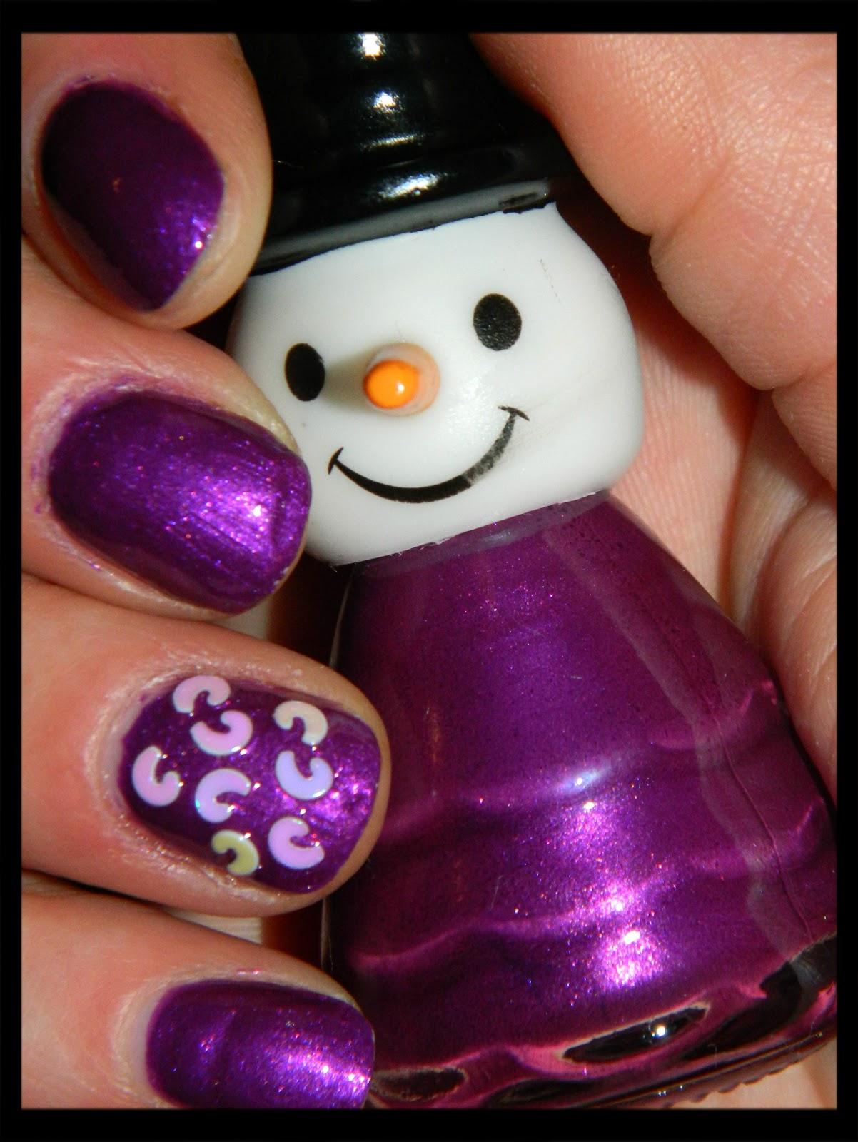 cutting edge polish : snowman shaped nail polish from family dollar ...