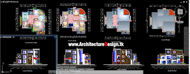 Modern House Dwg Free Download 2
