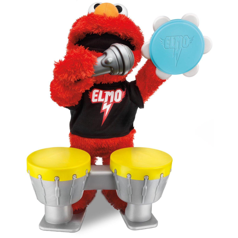 Sesame Street Let/'s Rock Musical Elmo Replacement Bongo Drum Set Toy Instrument