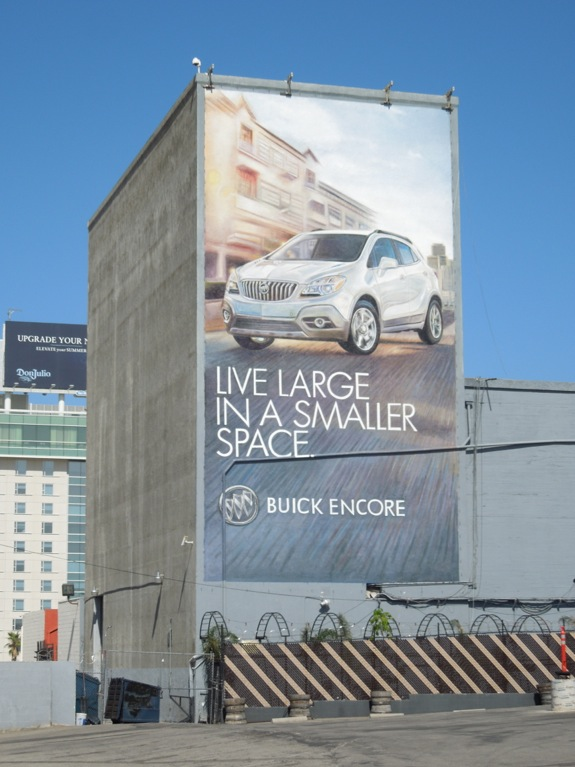 Buick Encore Live large billboard