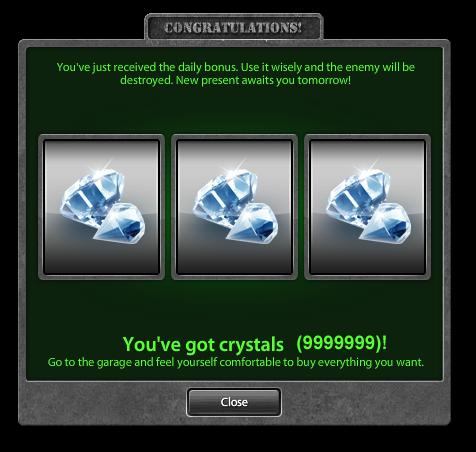 Как сделать кристаллы на танки онлайн бесплатно