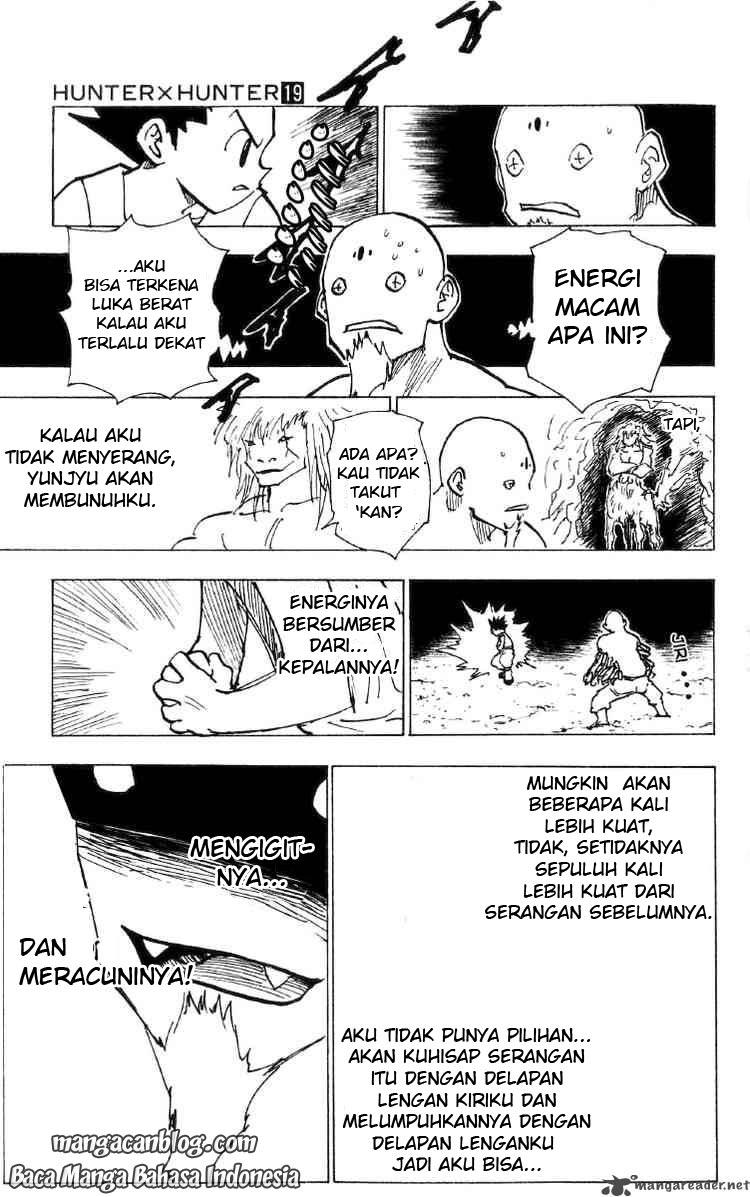 Dilarang COPAS - situs resmi www.mangacanblog.com - Komik hunter x hunter 193 - gunting 194 Indonesia hunter x hunter 193 - gunting Terbaru 9|Baca Manga Komik Indonesia|Mangacan