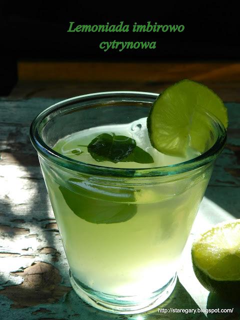 Lemoniada imbirowo cytrynowa