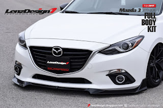 Mazda 3 2013-2017 Tuning & Body Kit