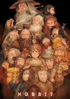 hobbit-fan-art-dwarves-gandalf-bilbo
