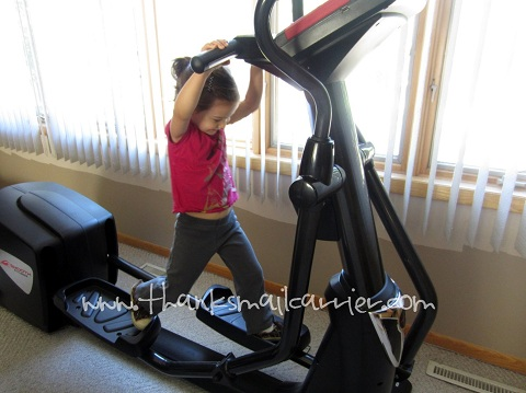 Smooth Fitness elliptical machine