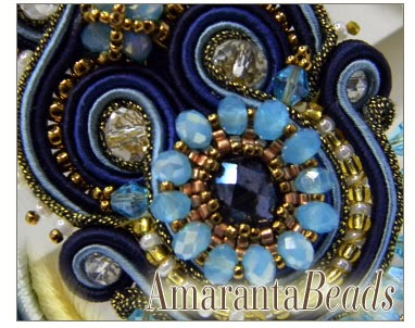 Queen of the Sea - Soutache Necklace