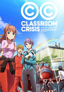 Poster Anime Classroom☆Crisis (Summer 2015) - First Impression Review by Glen Tripollo