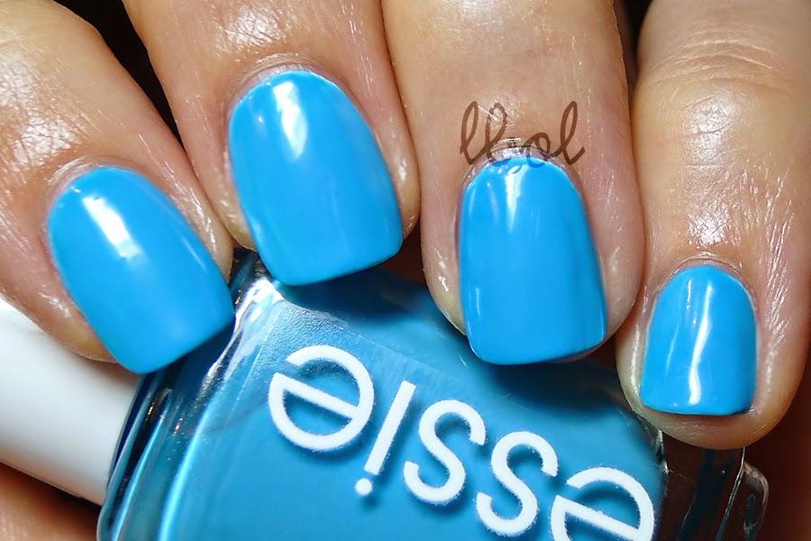 Essie Summer Neon 2014 I'm Addicted Swatch