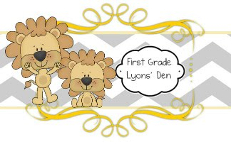 First Grade Lyons&#39; Den