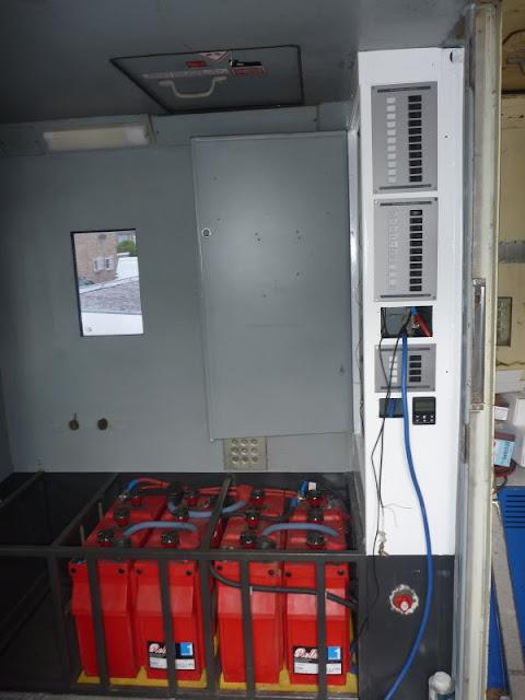 The Victron ESP breaker panels freshly installed