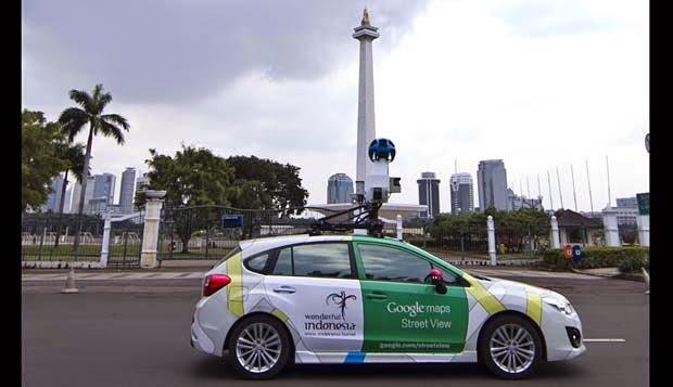 Google Street View Kini Sudah Hadir Di Kota-Kota Indonesia