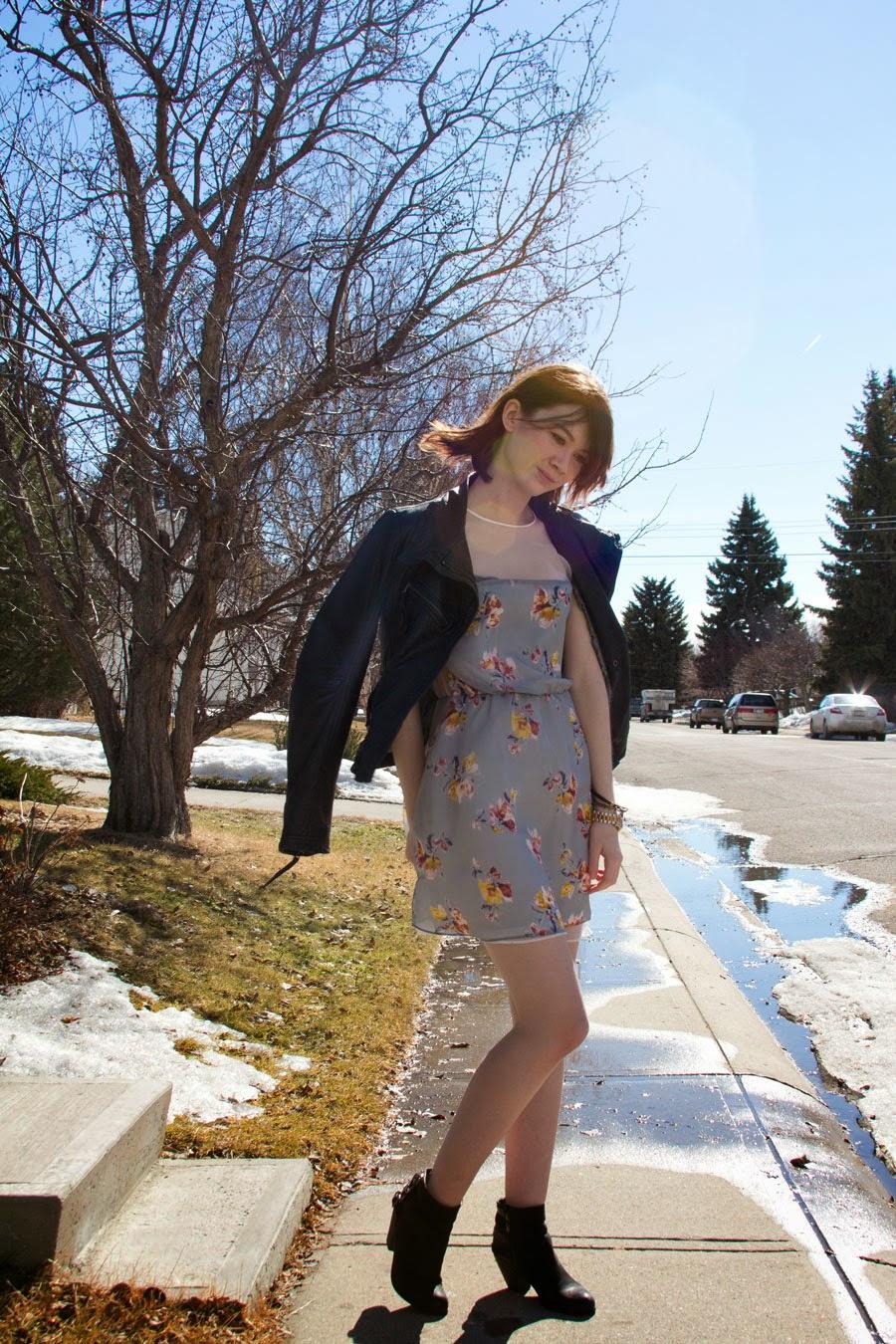 summer dress, spring fashion, summer fashion, sam edelman, zara, danier, leather, michael kors