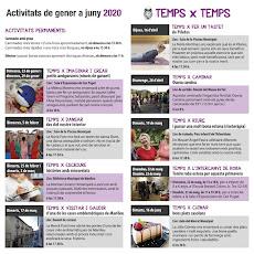 PROGRAMACIÓ DE GENER A JUNY 2020