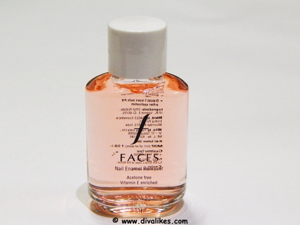 About Faces Nail Enamel Remover