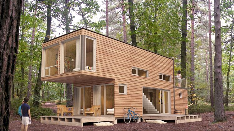 Modern Interior Design Off Grid Homes Plans