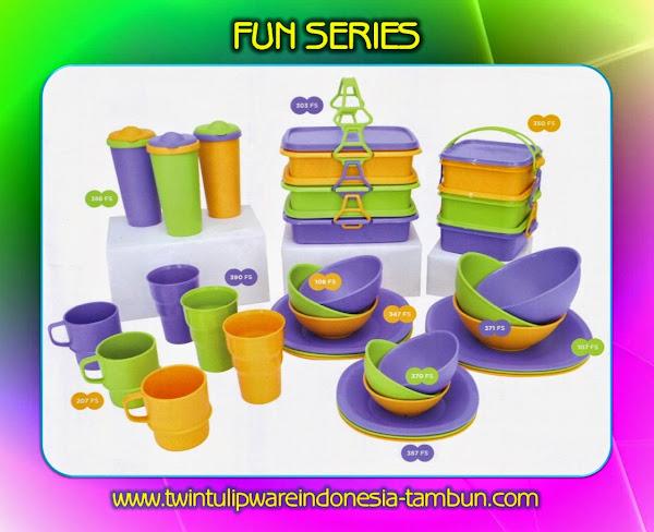 FUN SERIES - Produk Tulipware Terbaru 2014