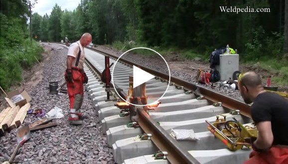 Joining of Rail Lines by Thermite Welding ~ Weldpedia