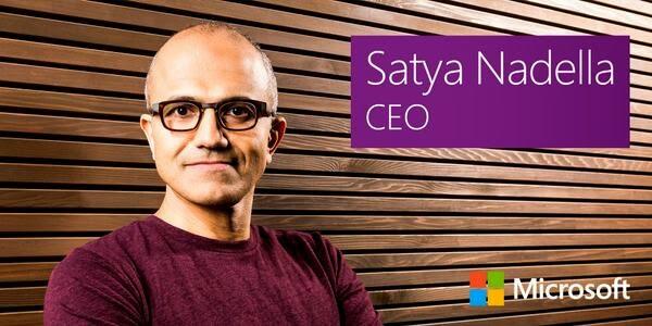 Satya Nadella new CEO of Microsoft
