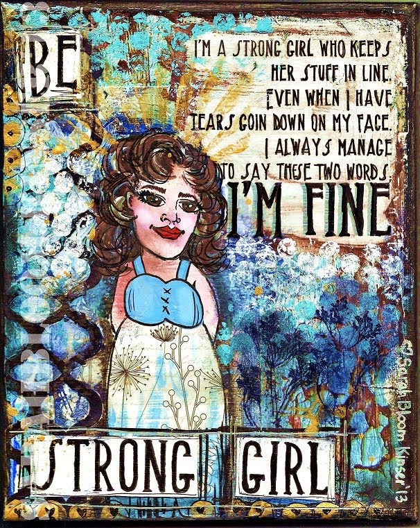Be Strong girl...