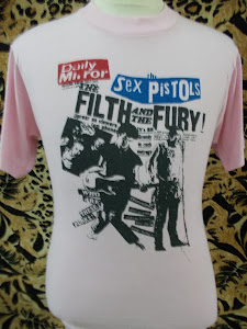 VTG SEX PISTOL 80s SHIRT