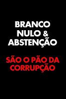 abstenção corrupção cne