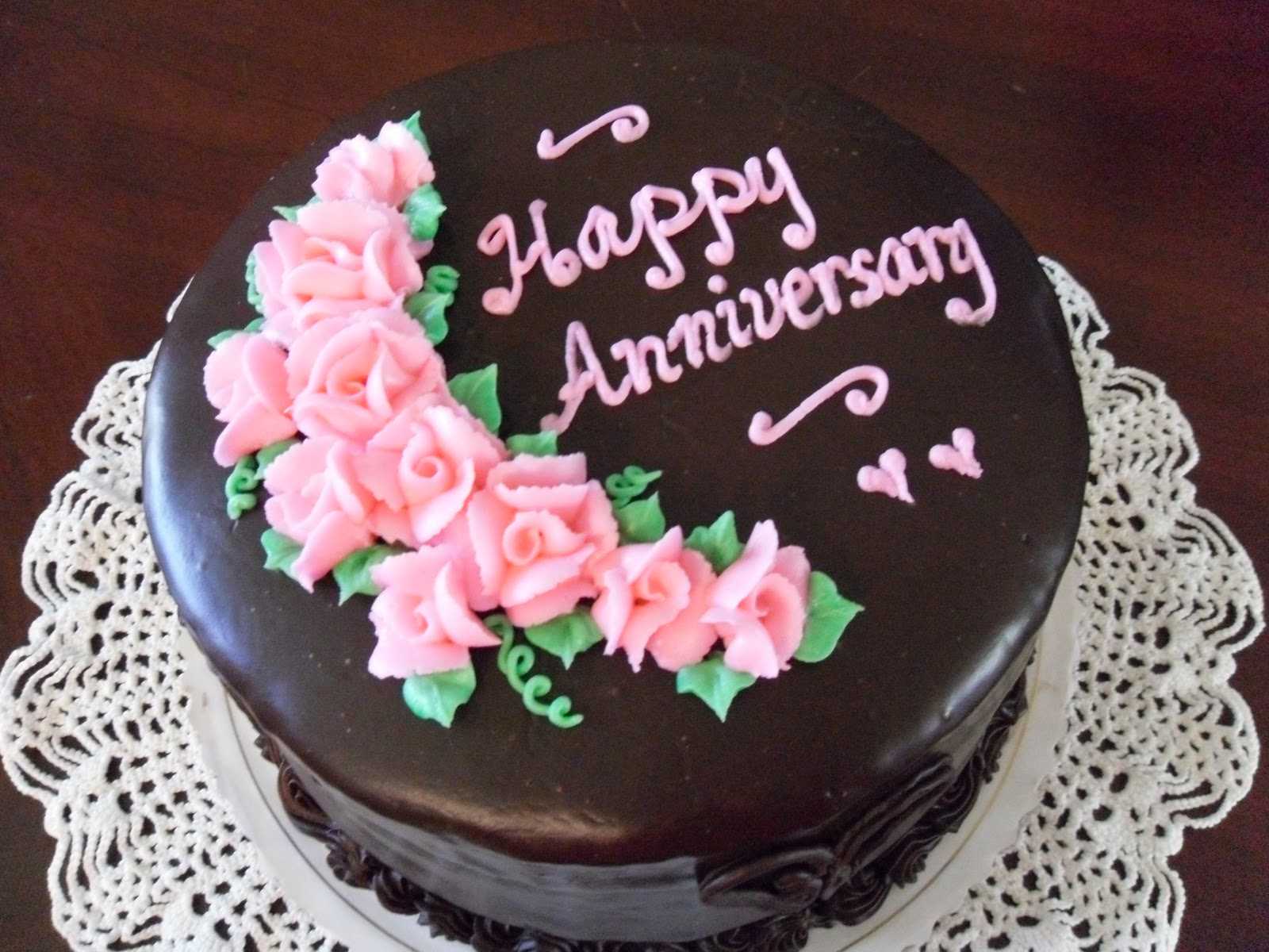 Anniversary Chocolate Cake Design : Cake Concepts by Cathy: Making a