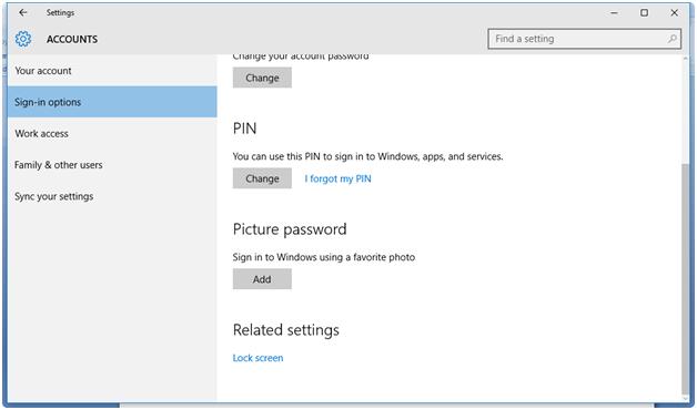 how to get into password lock windows 10 login