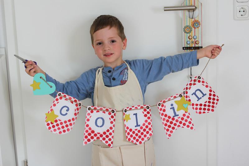 Colins Erster Selbstgemachter Banner Conibaers