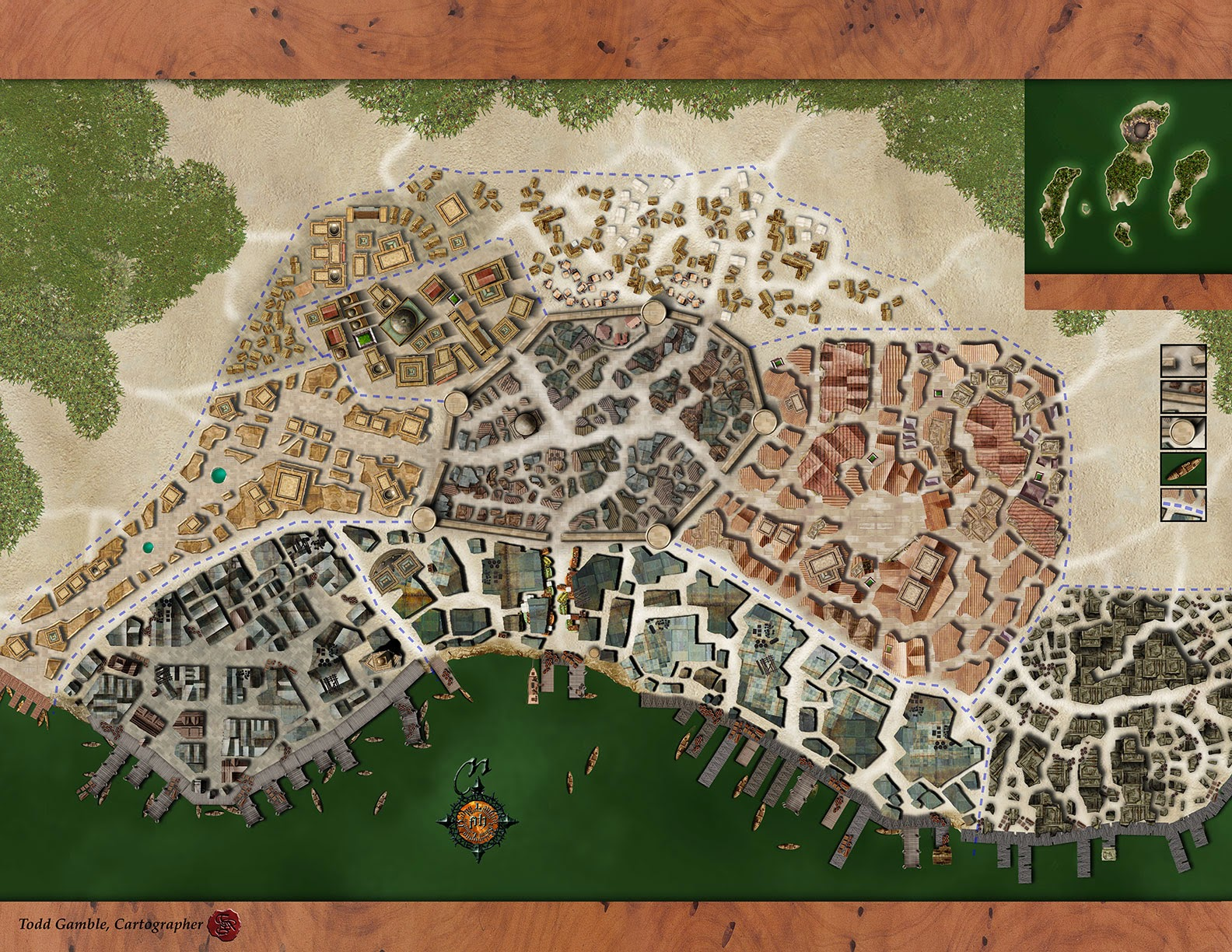 Lawhammer Freeport A City Map Updated 1 Of 2