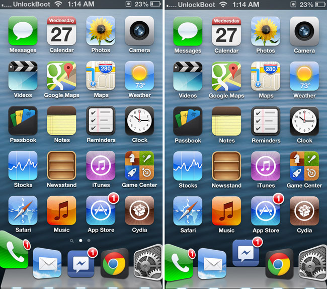 Active Dock tweak review