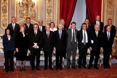 I ministri del governo Monti