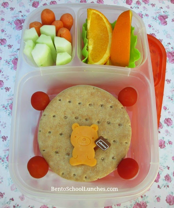 quick and easy sandwich rounds, bento school lunches