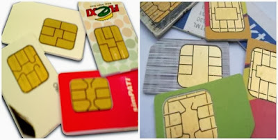 Cara ganti Kartu SIM Card