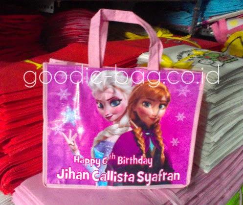 tas ulang tahun elsa anna frozen