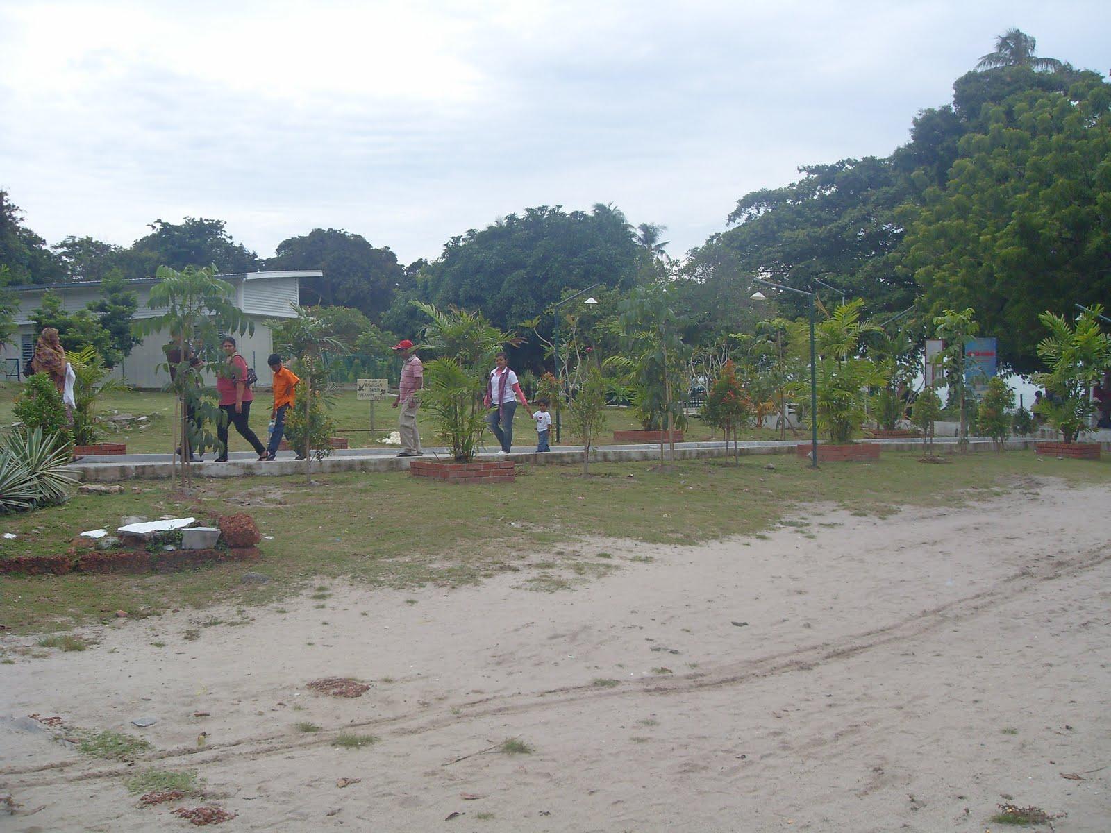 Angelray S Bloggie World Visit To Pulau Besar Malacca
