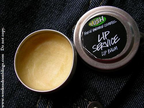 Lush Whipstick Lip Service Balm Reviews Ingredients Blog