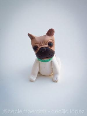 bulldog francés fimo