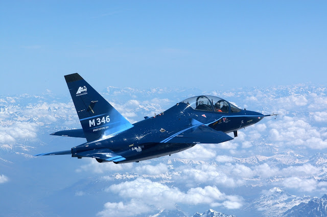 M-346 advanced jet trainer