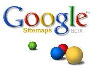 Google Sitemap. (Gambar tidak terlihat? Klik kanan tulisan ini, dan pilih 'Reload Image')