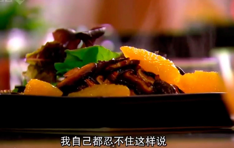 pollo con salsa de soja y naranja