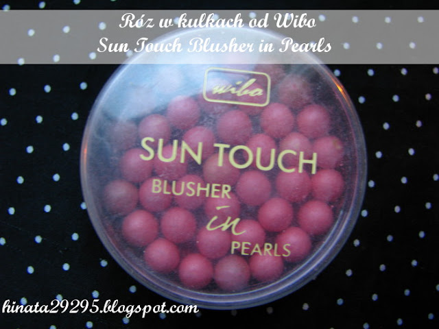 Róż w kulkach Wibo Sun Touch Blusher in Pearls