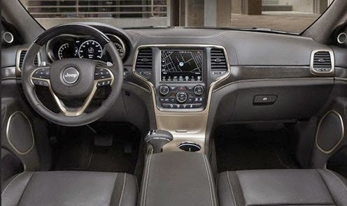 2015 Jeep Grand Wagoneer interior