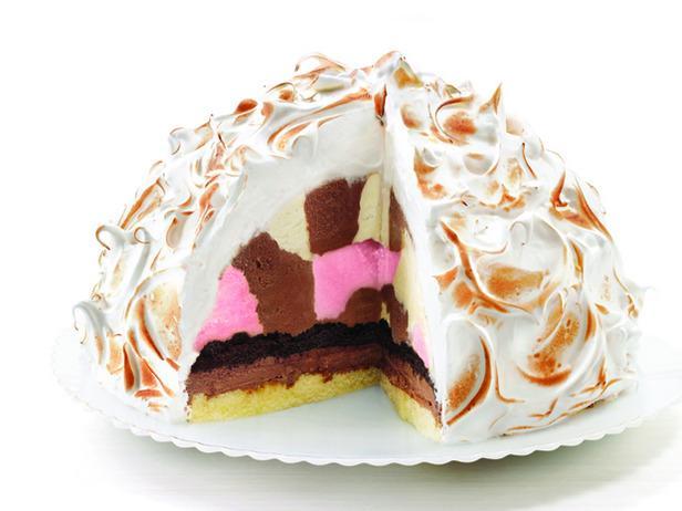 Ice Cream Bombe Cake