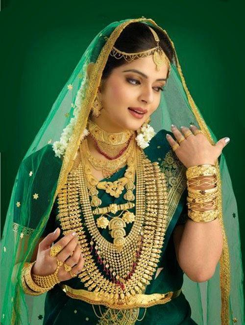 Kerala Muslim wedding Jewellery